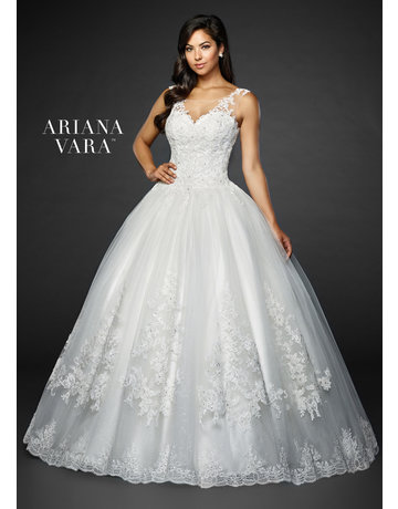 Ariana Vara Ariana Vara Bridal 119003, Color: White, Size: 10