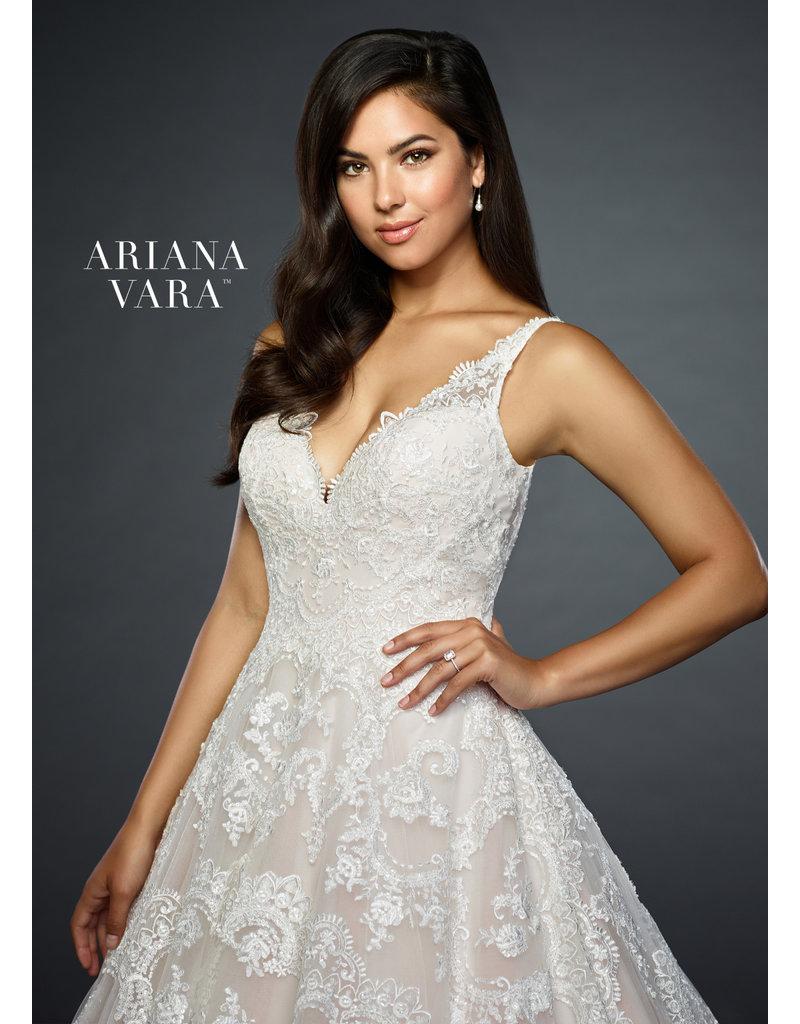 Ariana Vara Ariana Vara Bridal 119013, Color: Ivory/Rose, Size: 20