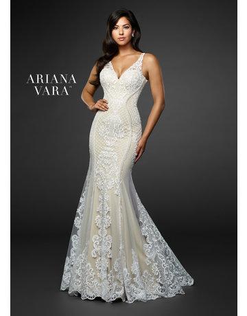 Ariana Vara Ariana Vara Bridal 119015, Color: Ivory/Nude, Size: 12