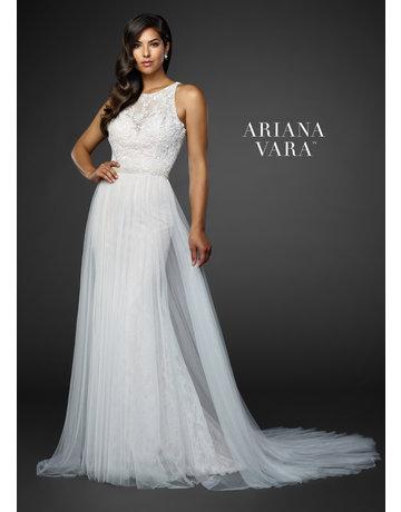 Ariana Vara Ariana Vara Bridal 119020, Color: Ivory/Champagne, Size: 22
