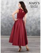 Beautiful Mothers Mary's Bridal Beautiful Mothers MB8024, Color: Marsala, Size: 16