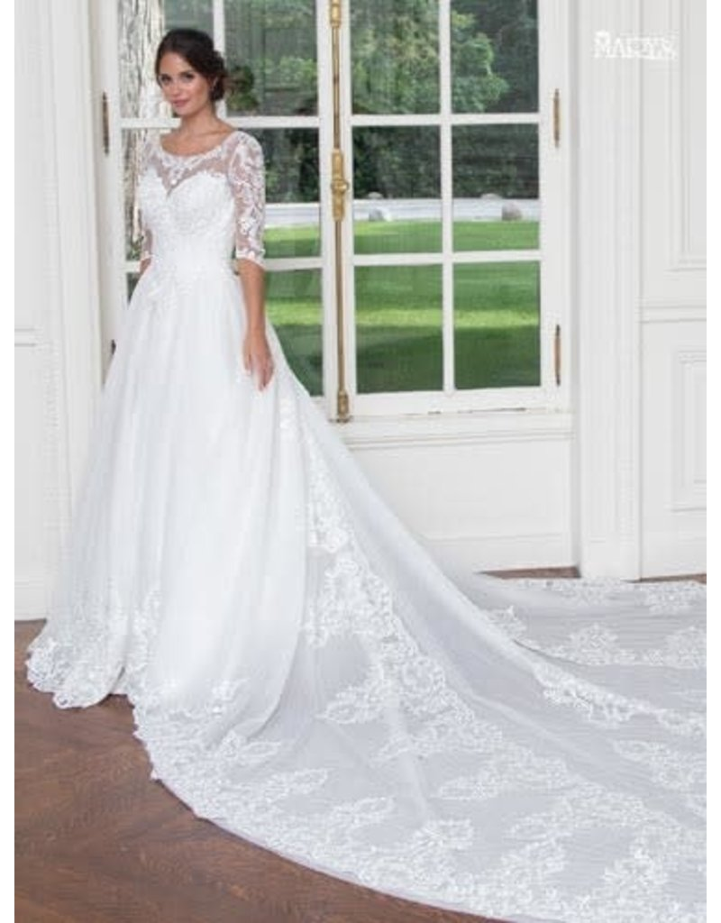 Mary's Bridal 2019 MOTHERS OF MB3020 WHITE 12 MB3020