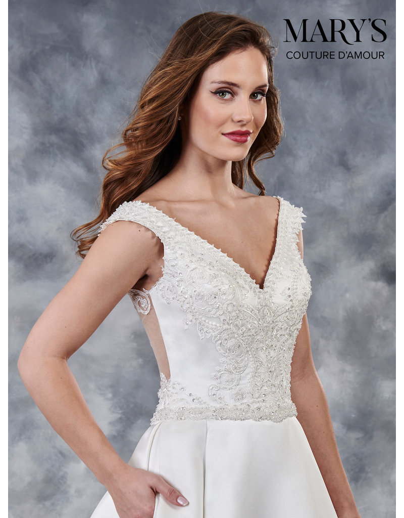 Mary's Bridal 2019 MOTHERS OF MB4026 IVORY 10 MB4026