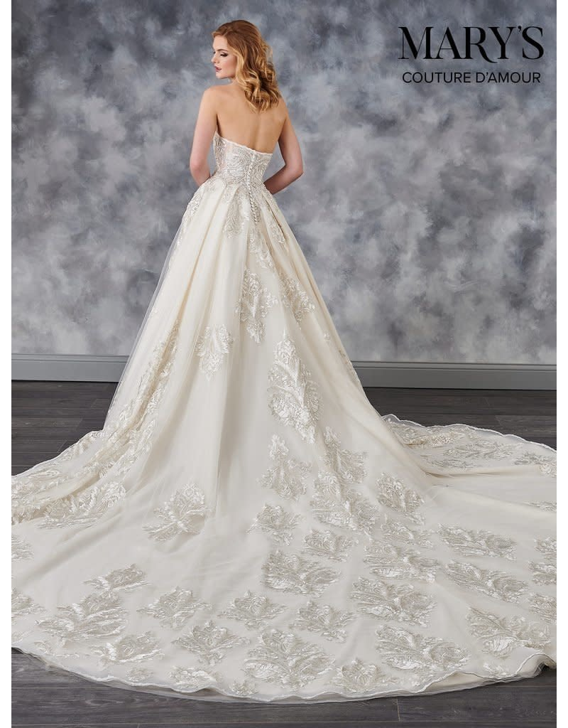 Mary's Bridal Mary's Bridal Mary's Bridal MB4039, Color: Ivory/Champagne, Size: 12