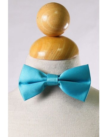 Calla Collection USA INC. Calla Collection Boy's Polyester Satin Bow Tie bowtie-b, Color: Aqua