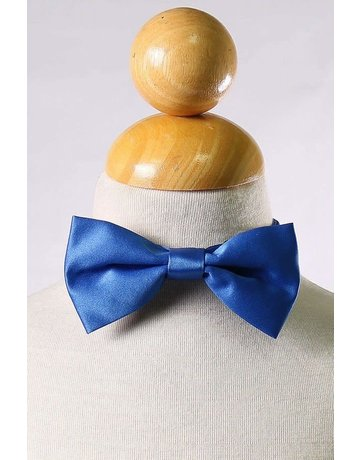 Calla Collection USA INC. Calla Collection Boy's Polyester Satin Bow Tie bowtie-b, Color: Royal Blue