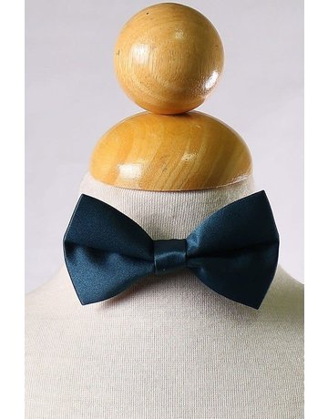 Calla Collection USA INC. Calla Collection Boy's Polyester Satin Bow Tie bowtie-b, Color: Navy