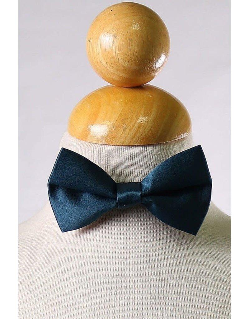 Calla Collection USA INC. Calla Collection Boy's Polyester Satin Bow Tie bowtie-b, Color: Navy