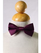 Calla Collection USA INC. Calla Collection Boy's Polyester Satin Bow Tie bowtie-b, Color: Burgundy