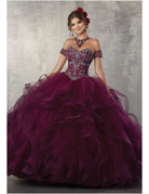 Vizcaya Mori Lee Vizcaya 89176, Color: Wine, Size: 14
