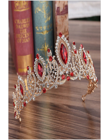My Fashion My Fashion Tiara 4160, Color: G/Red