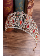 My Fashion My Fashion Tiara 4176, Color: G/Red