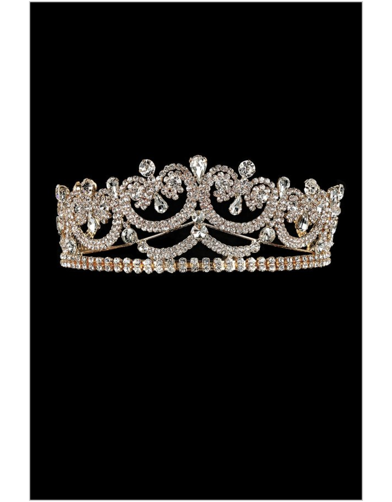 My Fashion My Fashion Tiara YJT733, Color: Gold