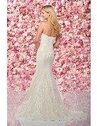 Mon Cheri Mon Cheri Bridals Enchanting 219132, Color: Diamond White/Nude, Size: 10