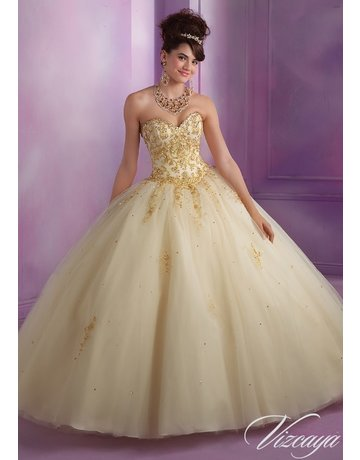Mori Lee Mori Lee 89015 Champ/Gold