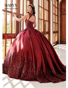 Mary's Quince Marys Quince MQ3038, Color: Burgundy, Size: 8