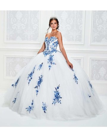 Princessa Princessa PR11928, Color: White/Royal, Size 10