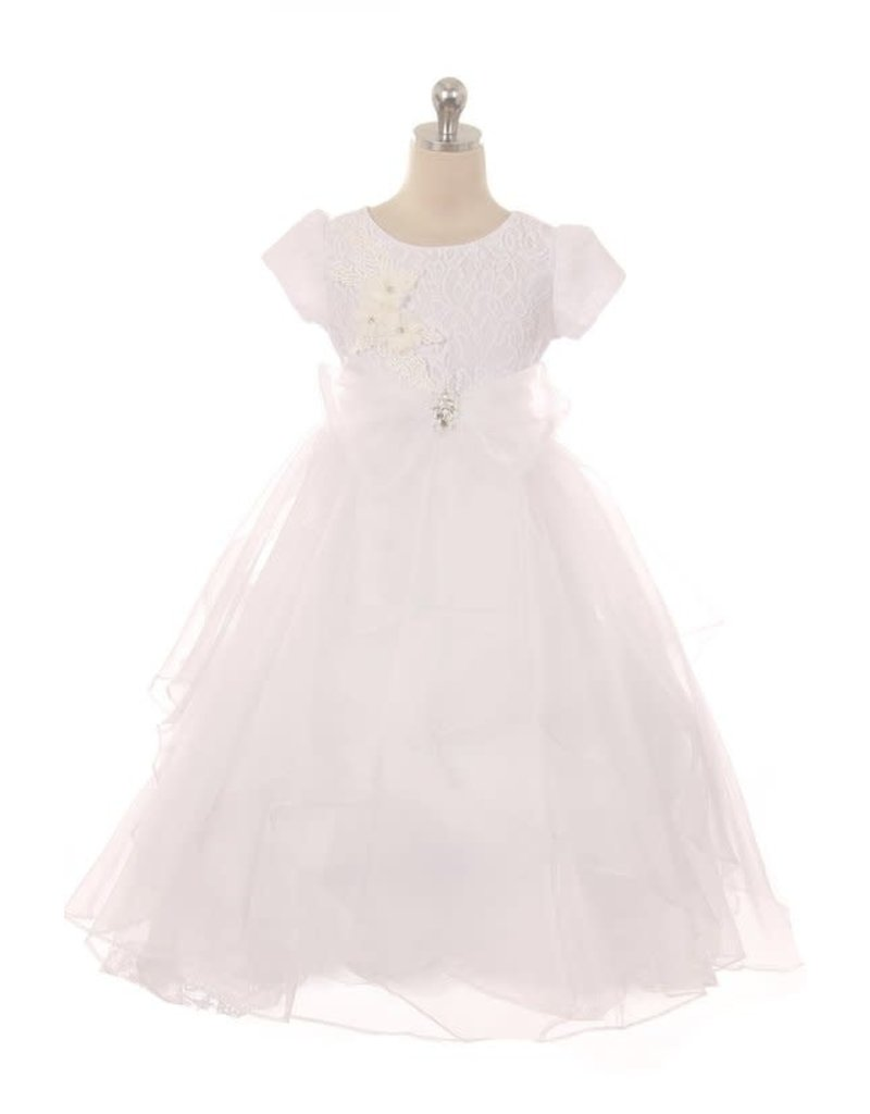 Kiki Kids Kiki Kids 6451 Color: White Size: 10