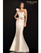 Terani Couture Terani 2011E2424 Color: Champagne, Size: 12