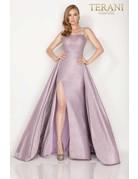 Terani Couture Terani 2011P1164 Color: Mink, Size: 12
