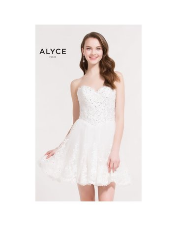 Alyce Alyce ALY-2645 Color: White Size: 12