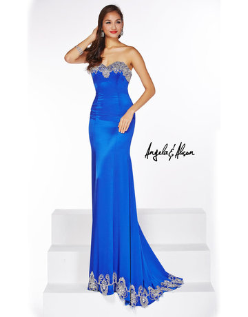 Angela & Alison Angela & Alison ANG-51083 Color: Royal Blue Size: 00