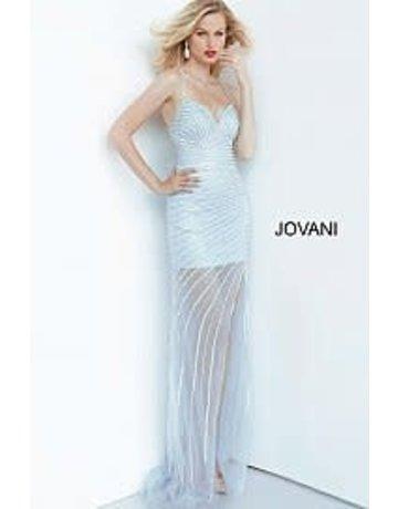 Jovani Jovani 03187  Color: Light Blue, Size: 10