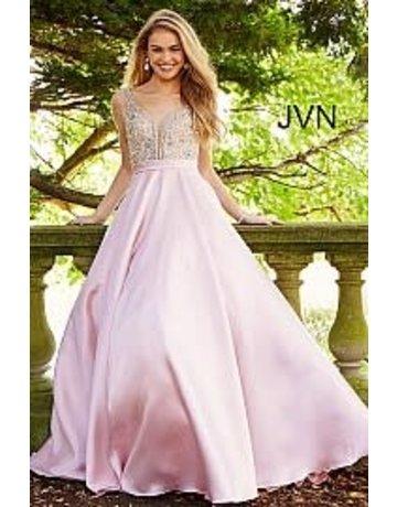 Jovani Jovani JVN 60696 Color: Blush, Size: 10