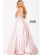 Jovani Jovani JVN 60696 Color: Blush, Size: 10
