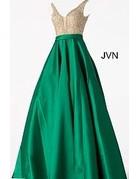 Jovani Jovani JVN 60696 Color: Emerald, Size: 12