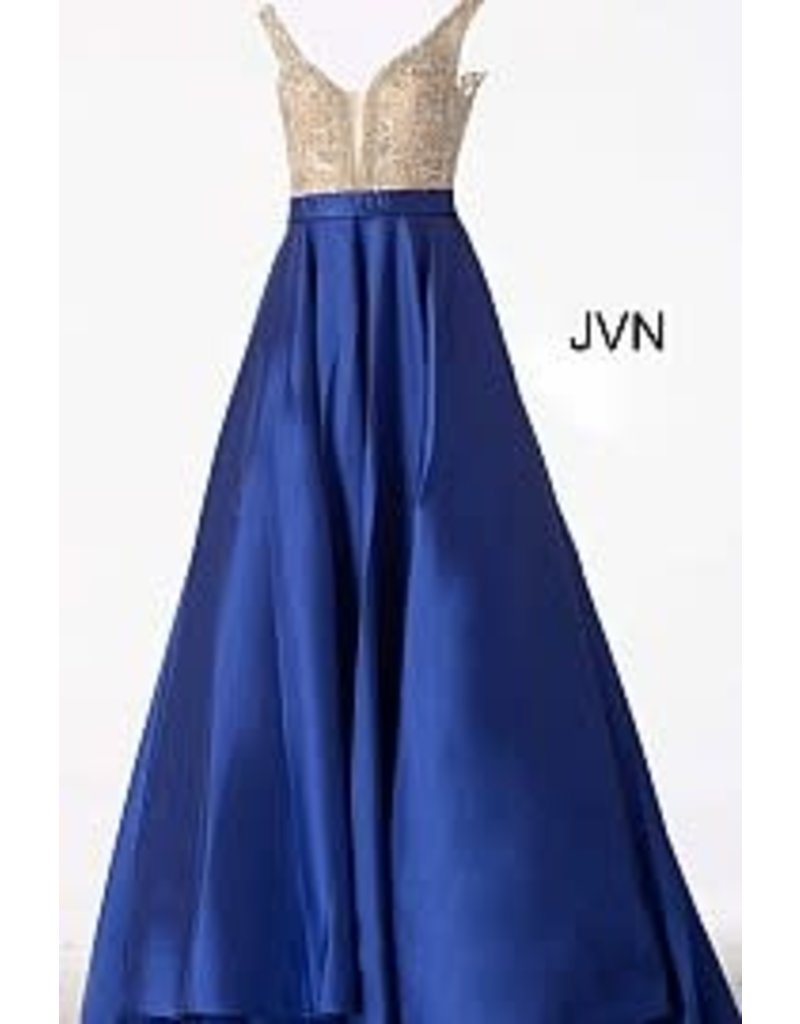 Jovani Jovani JVN 60696 Color: Royal Blue, Size: 10
