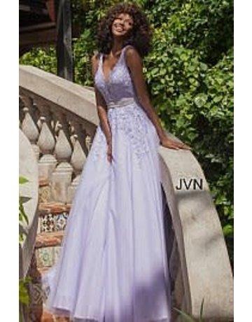 Jovani Jovani JVN68258 Color: Light Purple, Size: 18