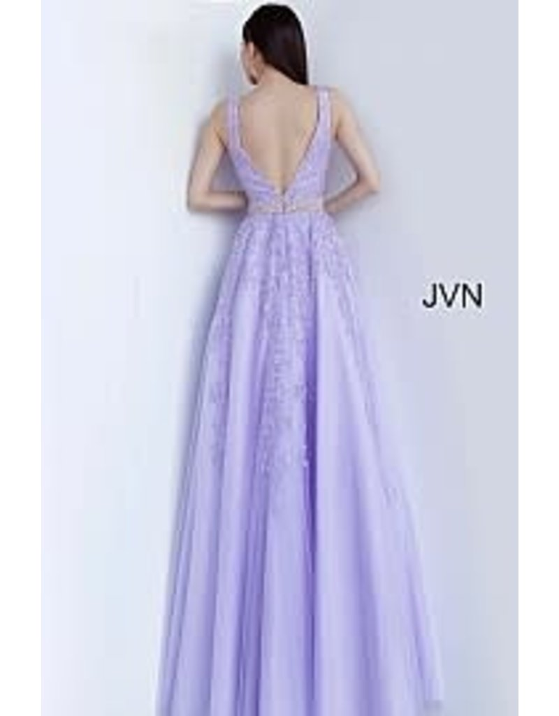 Jovani Jovani JVN68258 Color: Light Purple, Size: 18