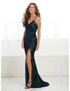 tiffany Design Tiffany Design 16400 color; Emerald Multi, Size: 6
