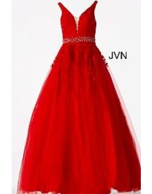 JVN Jovani JVN68258 Color: Red, Size: 8