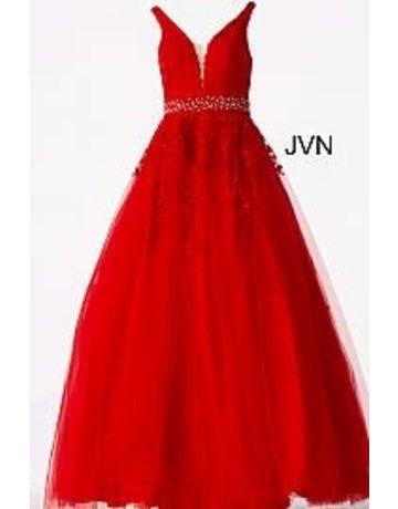 JVN Jovani JVN68258 Color: Red, Size: 8
