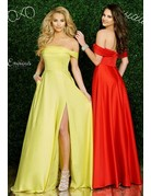 Envious Couture Enivous Couture E1411 Color: Red, Size: 14