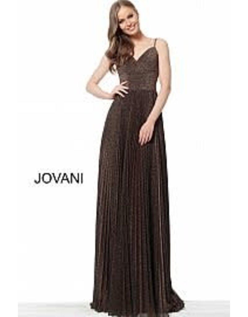 Jovani Jovani 68091A color: Coffee, Size: 12