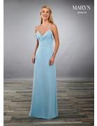 Mary's Bridal Mary's Bridal MB7073 Color: Capri, Size: 10
