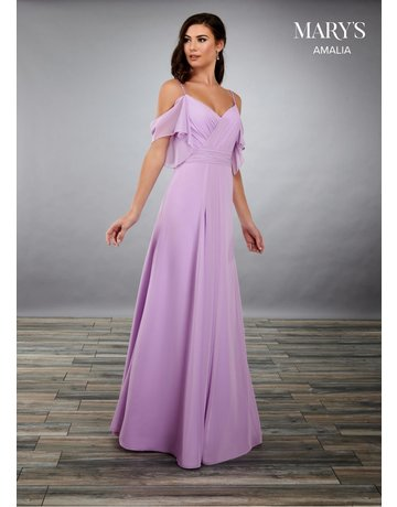 Mary's Bridal Marys Bridal MB7074 Color: Orchid, Size: 16