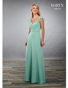 Mary's Bridal Mary's Bridal MB7080 Color: Eggplant, Size: 18