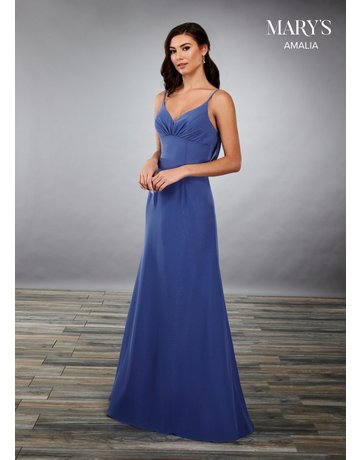 Mary's Bridal Mary's Bridal MB7083 Color: Ocean, Size: 8