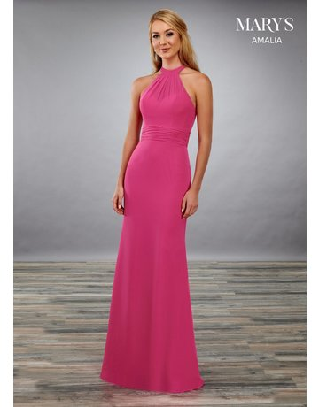 Mary's Bridal Mary's Bridal MB7071 Color: Magenta, Size: 12