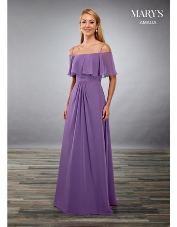 Mary's Bridal Mary's Bridal MB7084 Color: Royal Blue, Size: 16