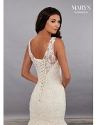 Mary's Bridal Mary's Bridal MB3093 Color: White, Size: 10