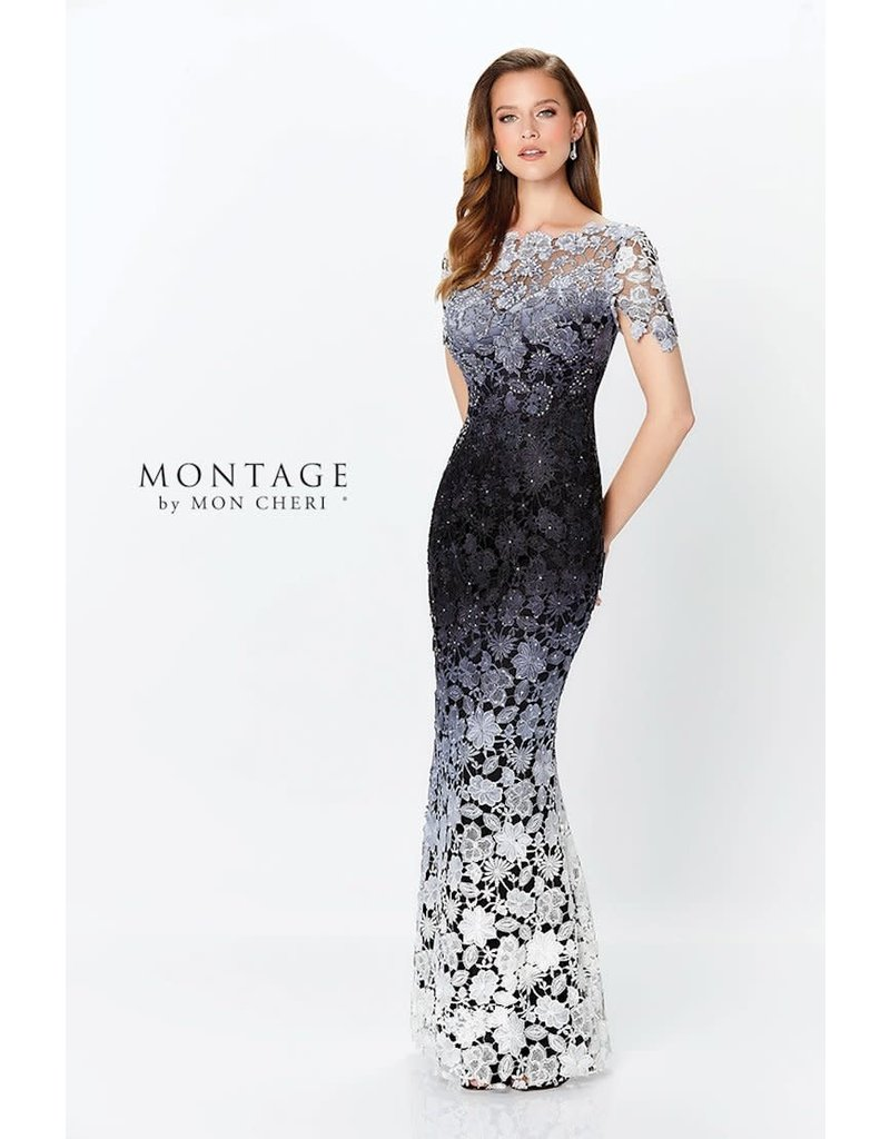 Montage Montage 119958 Color: Black/Gray/White, Size: 12