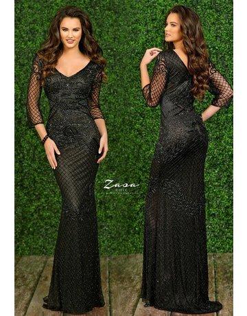 Zasa Chic Zasa Chic K2295 Color:Black, Size 12