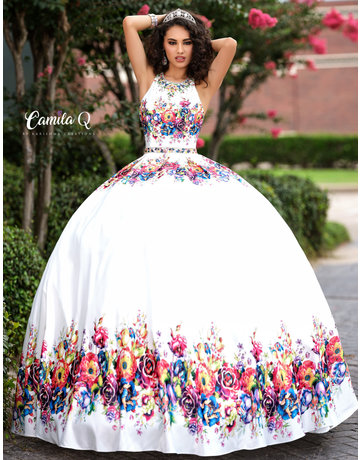 Camila Q Camila Q17041 Color: Royal/Multi, Size 18