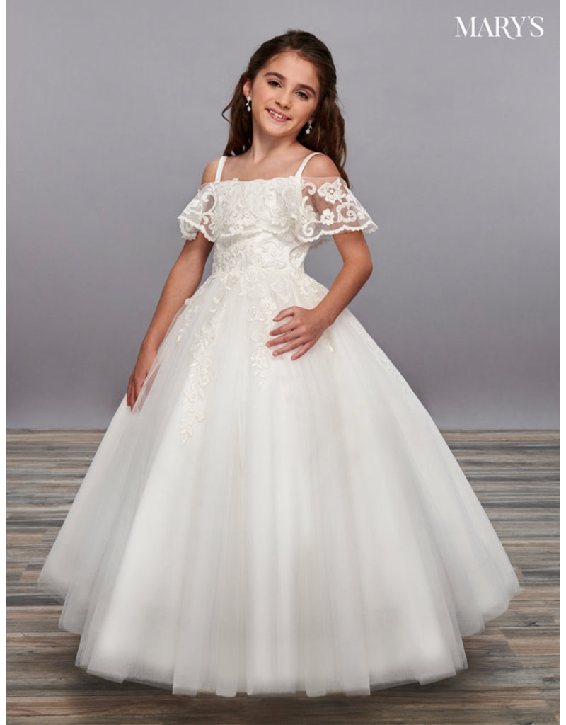 """Mary's Angels Mary""""s Angels MB9059, Color: Ivory, Size 14"""