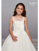 Mary's Bridal Mary's Angels MB9057 Color White, Size 14